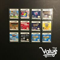 Lot of 12 Nintendo DS Games - Super Mario Bros, Space Bust-A-Move, & More