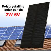 2W 6V DC Output Polysilicon Durable Portable Solar Panel Solar Light Outdoor