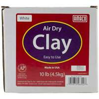 Air-Dry Modeling Clay 10lb White 039672463028