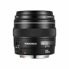 Yongnuo YN100MM F2 AF& MF  Prime Lens For Canon EOS 650D 750D 60D 70D 7D Camera