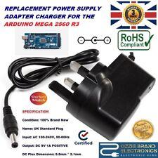 UK 9V 1A AC/DC Alimentazione Alimentatore Adattatore Caricatore Spina per Arduino Mega 2560 R3