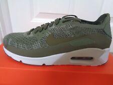 Nike Max 90 Ultra Flyknit Para Hombre Air entrenadores 875943 200 UK 6 EU 39 nos 6.5 Nuevo + Caja