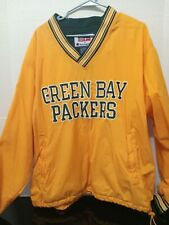 Vintage 90s Champion Green Bay Packers Mens Large Pro Line Windbreaker Pullover