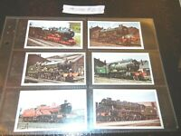 1976 Doncella THE GOLDEN AGE OF STEAM trains Tobacco  set of 24 -1 card lot