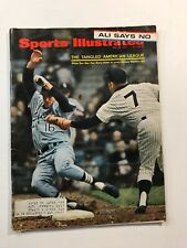 May 8,1967 Sports Illustrated Magazine Yankees Mickey Mantle