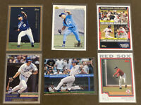 Johnny Damon 6-card Lot including ROOKIE 1992 Upper Deck Minors #19