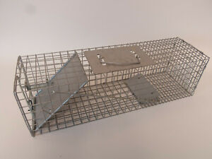 """Live Animal Trap SMALL Rodent Cage Garden Rabbit Raccoon Cat 24"""" x 7"""" x 7"""""""