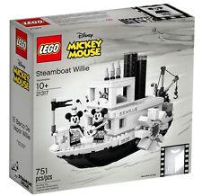 LEGO® Ideas (21317) Steamboat Willie NEU & OVP Mickey & Minne Mouse Schiff Boot