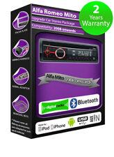 ALFA ROMEO MITO DAB Radio , Clarion stéréo Bluetooth Kit avec AUX USB Smartphone