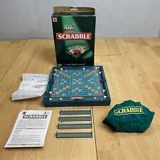 Travel Scrabble 2005 Mattel Complete Board Game 52347