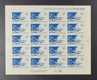 US SCOTT 3995 PANE OF 20 WINTER OLYMPIC GAMES STAMPS 39 CENT FACE MNH