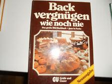 GU Backvergnügen wie noch nie, gebunden, Bild-Backbuch