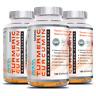Turmeric Curcumin Black Pepper 3 Bottles Anti-inflammatory Pain Relief 500mg