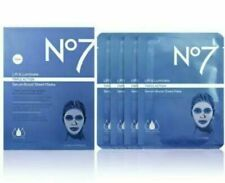 NO7 LIFT & LUMINATE TRIPLE ACTION SERUM BOOST SHEET MASKS X 4 BNIB RRP £27