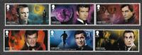 James Bond set 2020 mnh Great Britain-Royal Mail postage stamps