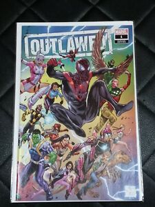 MARVEL OUTLAWED #1 TONY DANIEL VARIANT NM OR BETTER NEW! WRAP AROUND COVER.