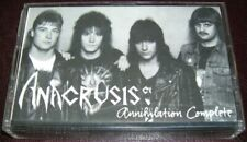 ANACRUSIS - Annihilation Complete 1987 - Speed Metal, Heavy Metal Tape