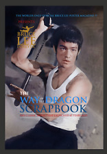 """BRUCE LEE  VERY LIMITED EDITION BRUCE LEE FOREVER """"WAY IF THE DRAGON"""" SCRAPBOOK"""