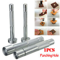 Eyelet Punch Die Tool Hole Cutter Set Rivet Snap Button Setter Die Leather Tool