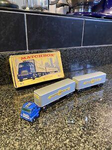 matchbox cars Artic Lorry