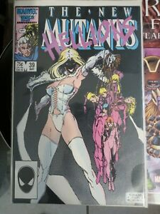 Marvel Comics THE NEW MUTANTS # 39 HELLIONS VF NM B&B .99 CENT SALE INSIDE