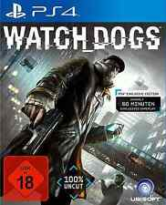 * ps4 gioco WATCH DOGS * COME NUOVO! * tedesco PLAYSTATION 4 TOP! *