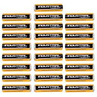 25x Duracell Industrial AA Alkaline Batteries Replaces Procell MN1500 1.5V LR6