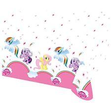 My Little Pony Arcobaleno Gamma Festa Amscan (compleanno/banner/palloncini / Tovaglia Cerata