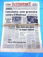 15/9/76 COPPA CAMPIONI TORINO MALMOE UEFA MANCESTER CITY JUVENTUS NAPOLI CESENA