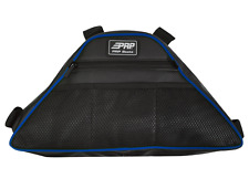 PRP Seats UTV Center Storage Bag Black/Blue Vinyl Yamaha Wolverine