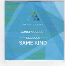 (FN363) Congi & Occult Feat. Segilola, Same Kind - 2014 DJ CD