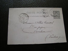 FRANCE - carte entier 1890 (cy24) french