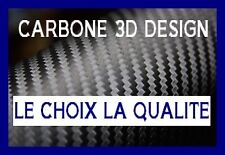 FILM VINYLE CARBONE 3D NOIR COVERING 152 X 200 cm