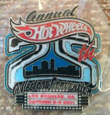 Hot Wheels 2011 25th Collector's Convention Los Angeles California Lapel Pin