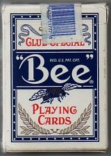 JEU DE CARTES DE POKER   BEE PLAYING CARDS   JOUEES AU TREASURE ISLAND LAS VEGAS