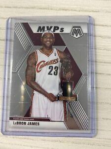 2019-20 NBA Mosaic LeBron James MVP Base Card