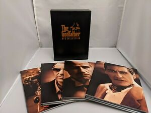 The Godfather DVD Collection 3 FILM Box Set + 3 Hrs Bonus- FREE SHIPPING