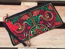 Embroidered Accessorise Clutch Bag Purse Free Post UK Sale