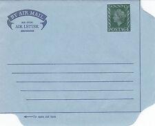 GB: 1967, Air mail lettre Feuille h&b ASP25 9d type C, Inutilisé