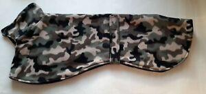 greyhound  dog fleece coat 29inch 74cm camouflage double layer