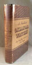 VINTAGE SIGNED FIRST EDITION BOOK A HANDBOOK OF OKLAHOMA WRITERS BOYLAN MARABLE