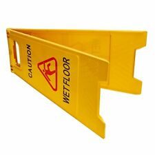 New Listingwaterproof Wet Floor Caution Safety Sign Folding Swimming Pool Yellow Slippery