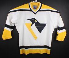 vtg Starter Mens M Jaromir Jagr Autographed Jersey Pittsburgh Penguins Signed