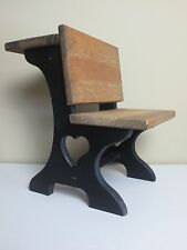 Wooden Doll Size School Desk Hand Made