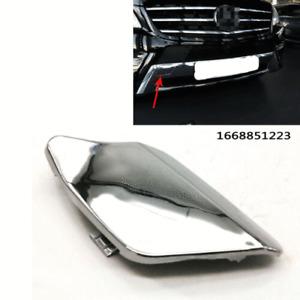 Front Bumper Chrome Tow Eye Hook Cover Cap Fits Mercedes Benz W166 ML350 ML500