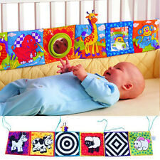 Top Intelligence development Cloth Bed Cognize Book Educational Toy for Kid Baby