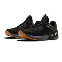 Under Armour Mens Hovr Apex 2 Training Gym Fitness Shoes Trainers Sneakers Black