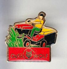 RARE PINS PIN'S .. AGRICULTURE TRACTEUR TRACTOR TONDEUSE WOLF FRANCE ~BG