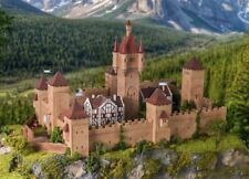 Vollmer Château du Moyen Âge avec Eclairage H0 1:87 (49910)