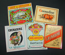 LOT 15 ETIQUETTES ORIGINALES  DRY GIN DIFFERENTES ROYAL KNIGHT ANCIENNES LABELS
